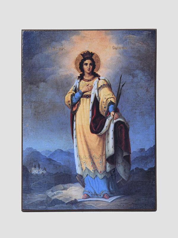 Св. Катерина (зображення поч. XX ст.)