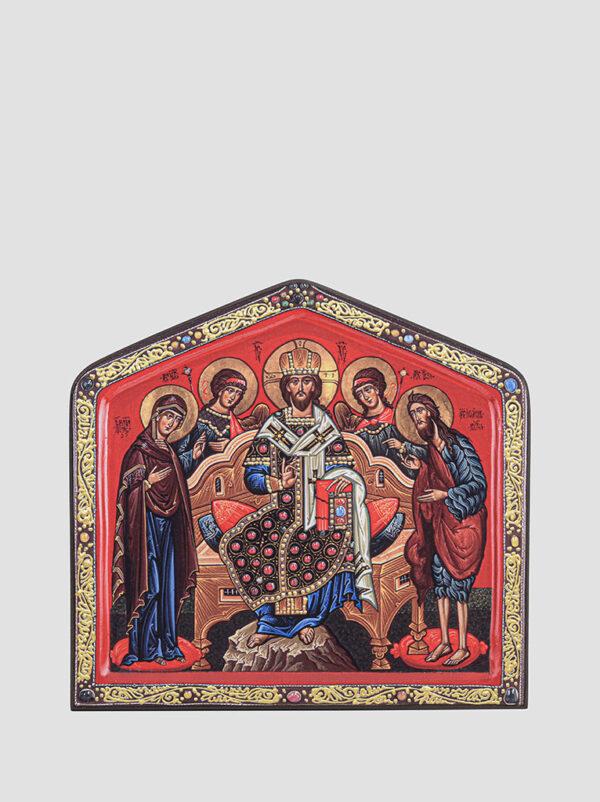 """Ікона """"Предста Цариця"""", """"Деісусний чин"""" (С.Вандаловський)"""
