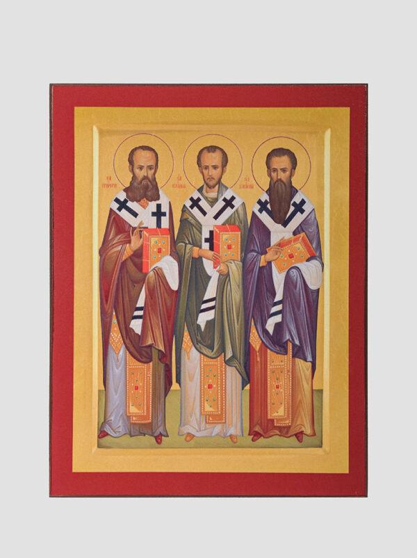 Три Святителі: Григорій Богослов, Іоан Златоуст, Василій Великий