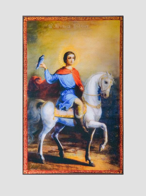 Св. Трифон Апамейський на коні