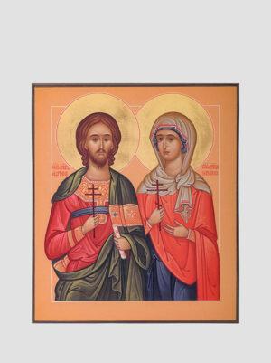 Свв. Адріан і Наталія