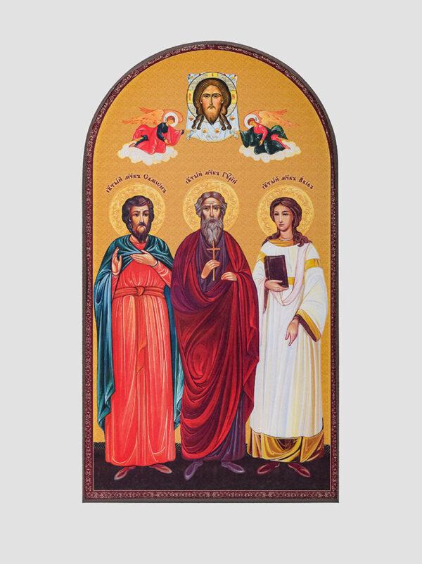 Свв. Гурій, Самон та Авів