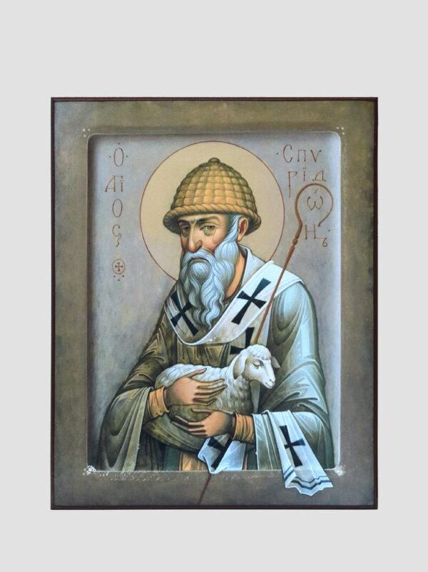 Св. Спиридон Триміфунтський з овечкою