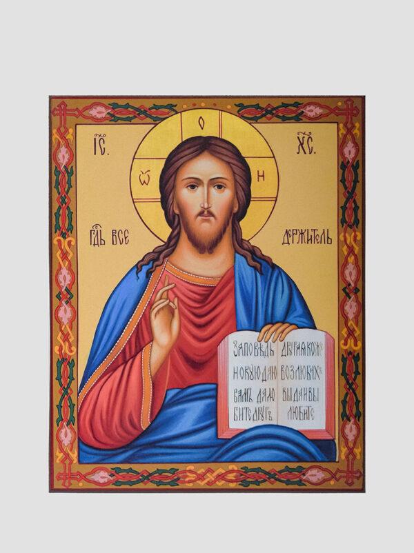 Пара вінчальна з Володимирською іконою Божої Матері Ісус Христос
