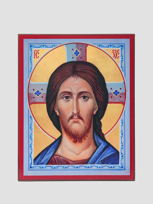 Пара вінчальна з Казанською іконою Божої Матері Ісус Христос