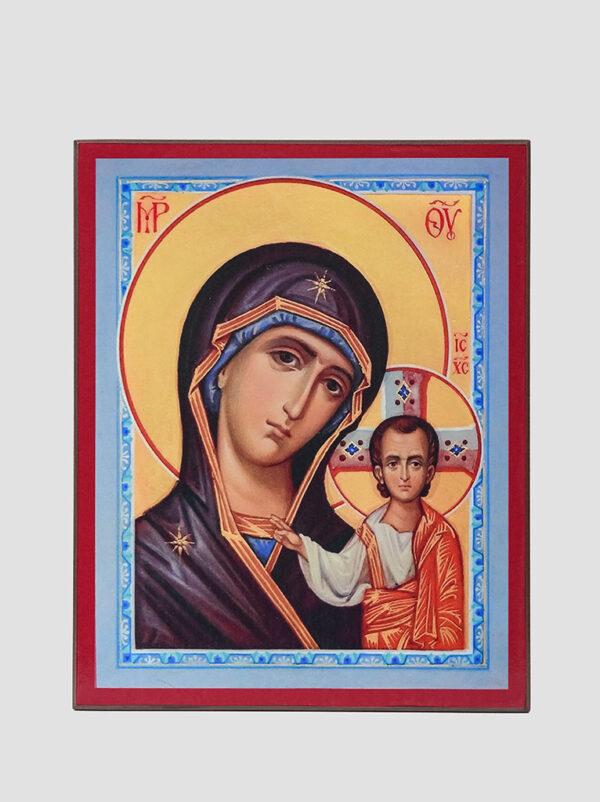 Пара вінчальна з Казанською іконою Божої Матері Богородиця
