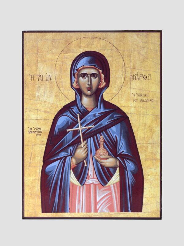 Св. Марфа Віфанська, сестра Лазаря Чотириденного
