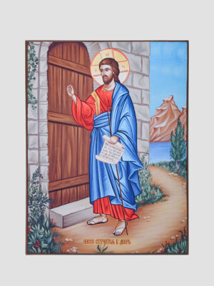 """Ікона """"Ісус стукає в двері"""""""