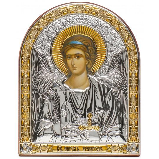 Ангел Охоронець (ікона срібна, арочна)