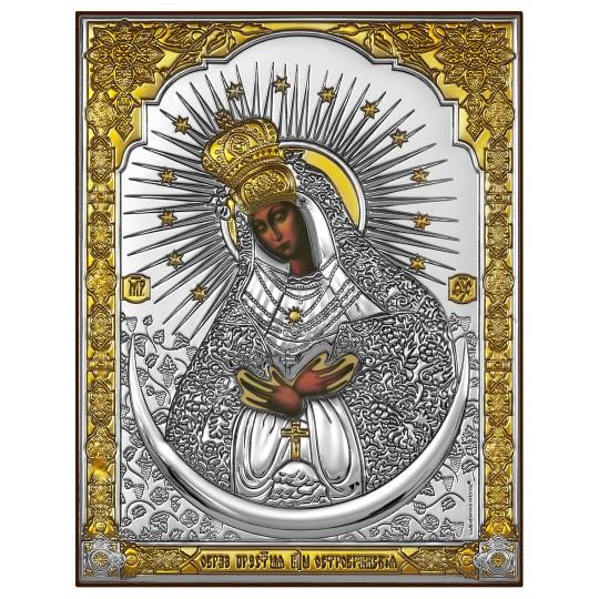 Остробрамська Богородиця (ікона срібна)