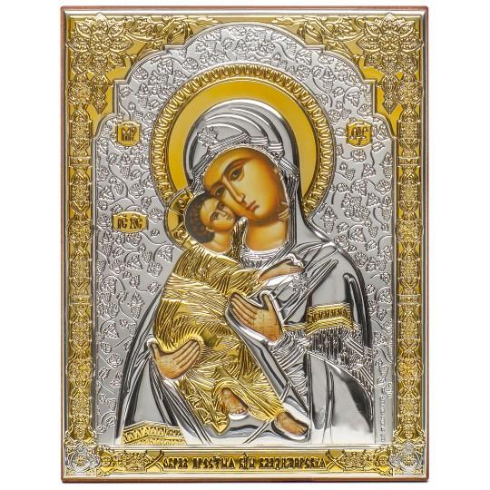 Володимирська Богородиця (ікона срібна)