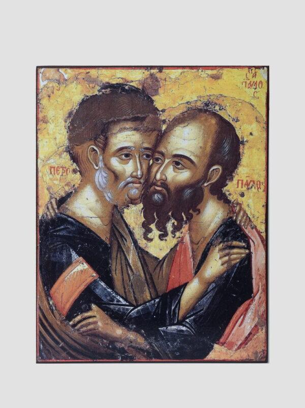 Свв. Петро і Павло, ікона монастиря Каракал, Афон
